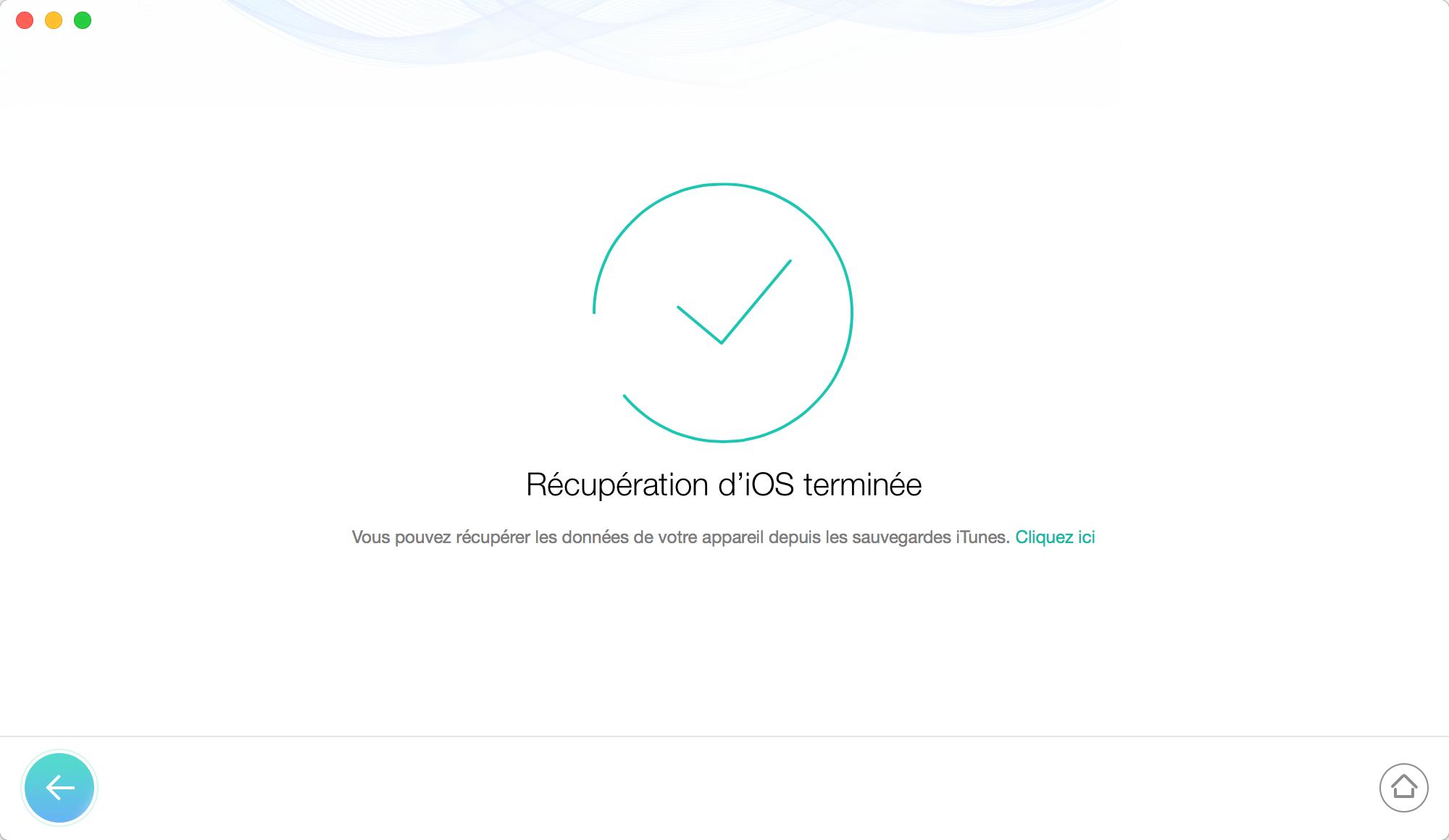 Débloquer l'iPhone reste bloqué sur pomme – étape 6