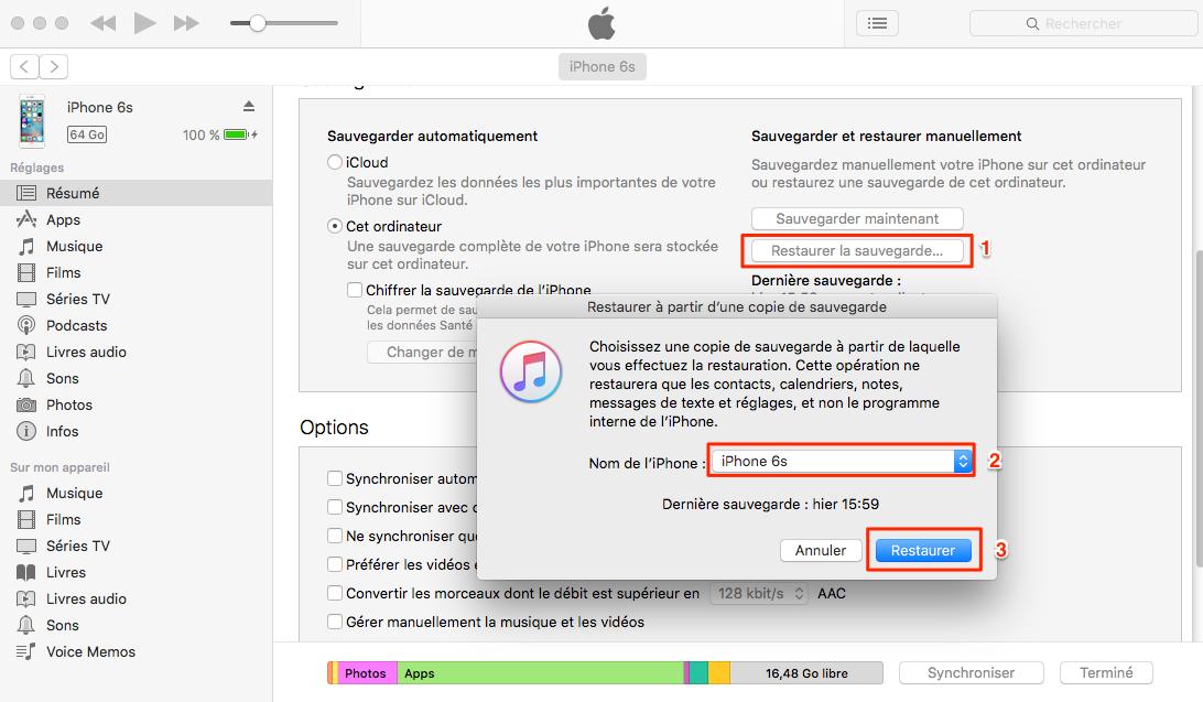 Solutions possibles pour iPhone bloqué sur