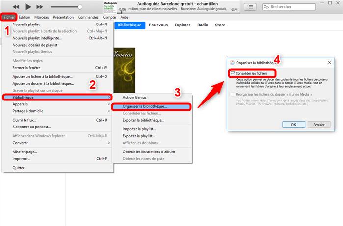 Faites une sauvegarde iTunes sur un ordinateur