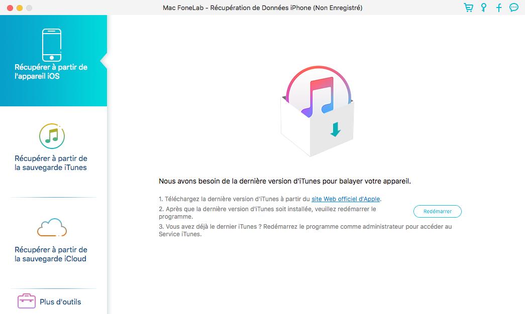 Logiciel de récupération de données iPhone - Aiseesoft Fonelab