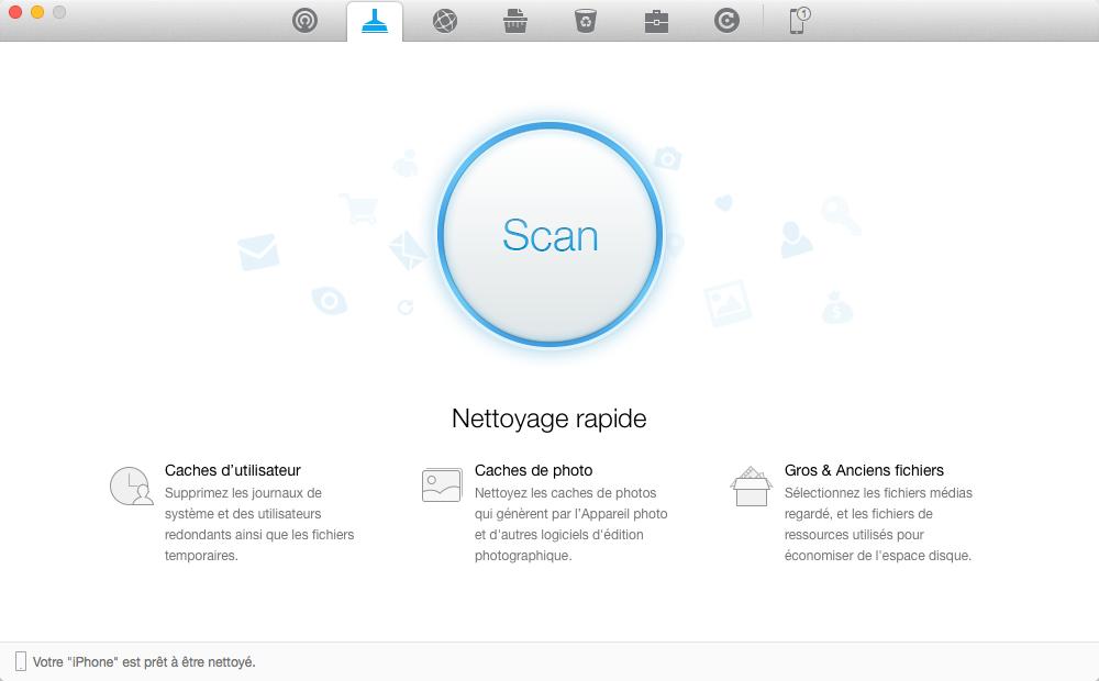 Meilleure alternative à iTunes pour le nettoyage d'iDevice - PhoneClean