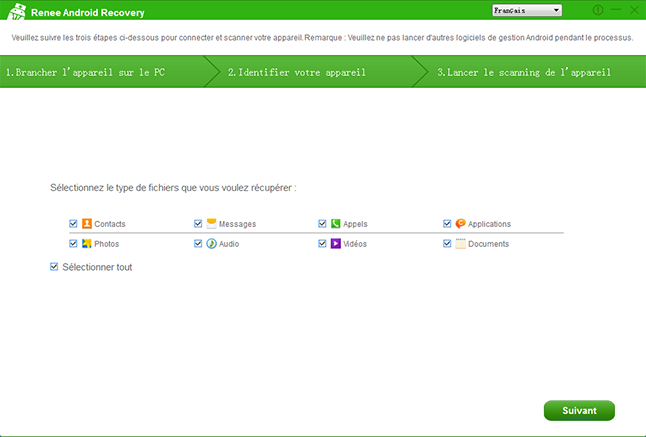 Top 5 logiciels de récupération de données Android – Reneelab
