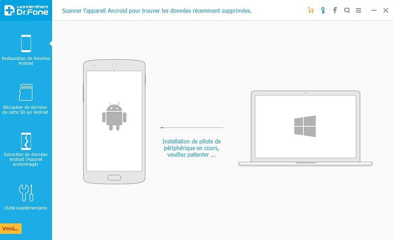 Top 5 logiciels de récupération de SMS Android – Dr.fone