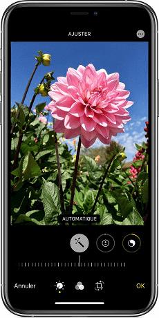 Lumière et couleur photo iPhone