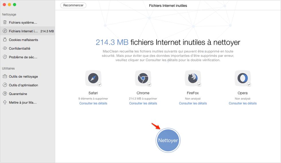 Comment vider le cache de navigation sur votre Mac