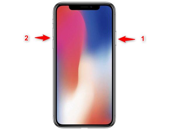 Manipulation pour éteindre l'iPhone