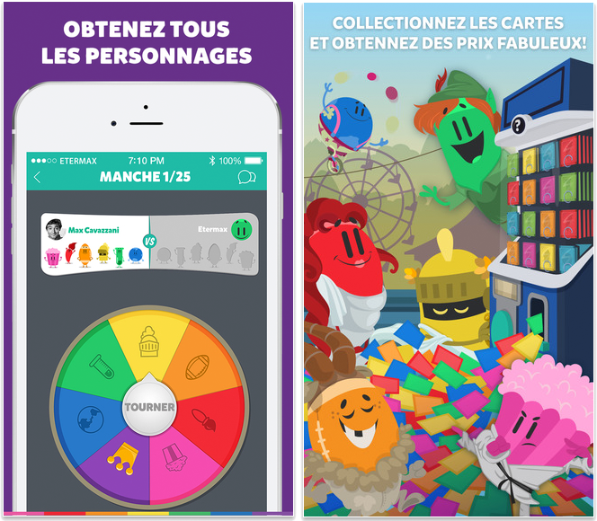 Meilleures applications pour iPhone 6/6s - Trivia Crack