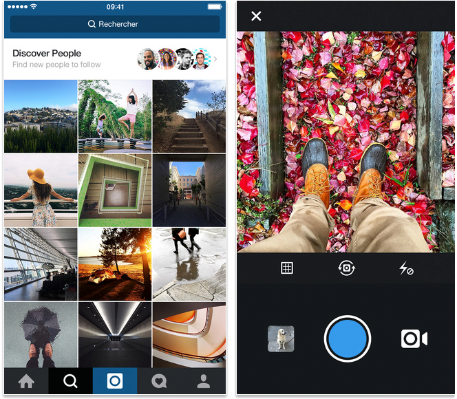 Meilleures applications pour iPhone 6/6s – Instagram