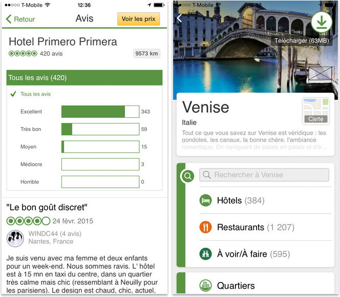 Meilleures applications pour iPhone 6/6s - TripAdvisor