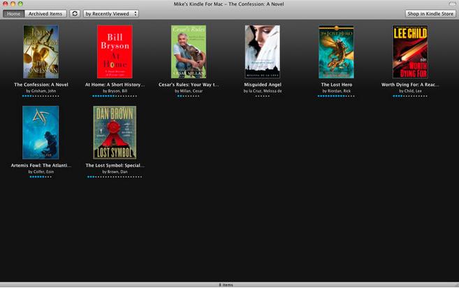 Meilleures Apps pour El Capitan - Kindle