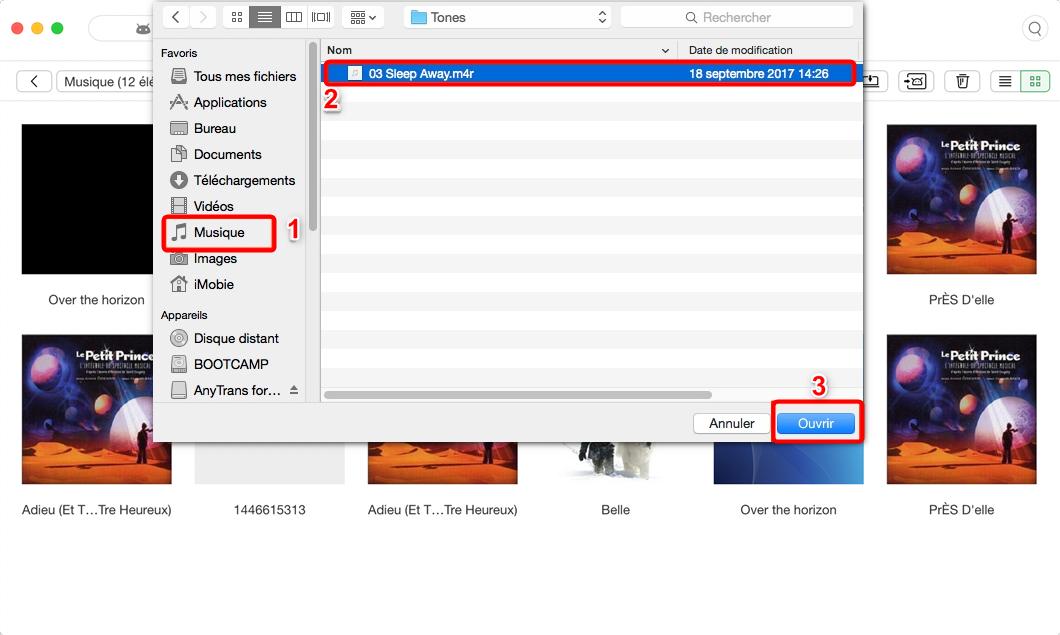 Mettre musique sur tablette Samsung - étape 3