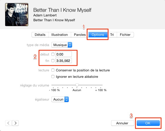 Mettre musique en sonnerie sur iTunes