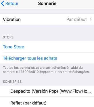Comment créer une sonnerie sur iPhone8 - étape 4