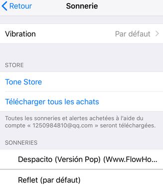 Comment créer une sonnerie sur iPhone X - étape 4