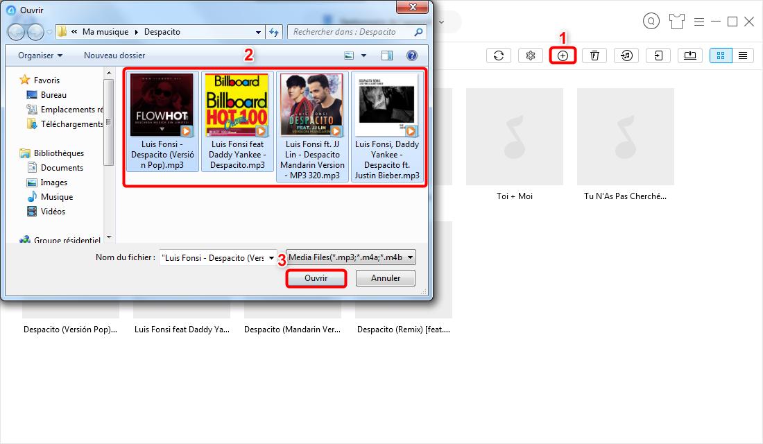 Mettre de la musique sur iPod sans iTunes – étape 3