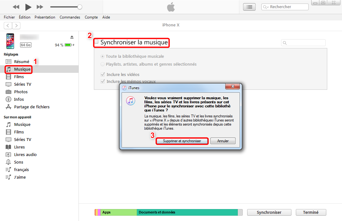 Mettre de la musique sur iPod shuffle avec iTunes