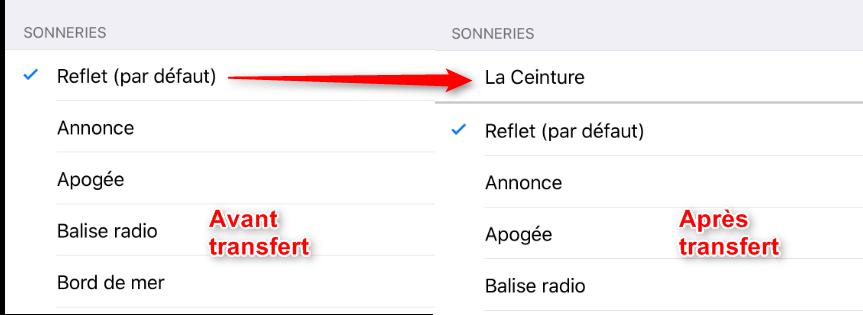 Personnaliser des sonneries sur iPhone 7 (Plus) - étape 4