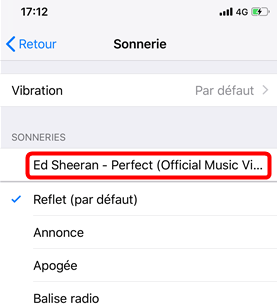 Comment changer les sonneries sur iPhone 4s