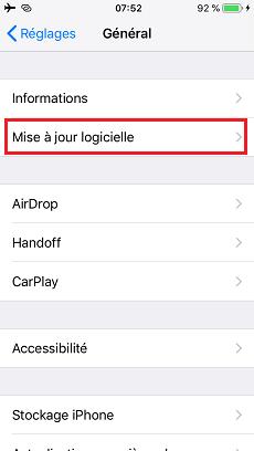Télécharger et installer iOS 13