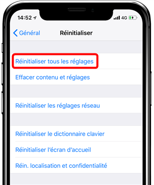 Comment faire si le mot de passe de la sauvegarde iPhone perdu