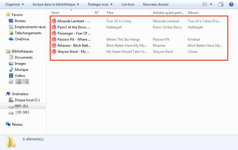Comment synchroniser musique iPhone vers PC – étape 4