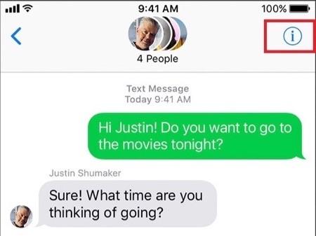 Ne pas déranger iPhone messagerie