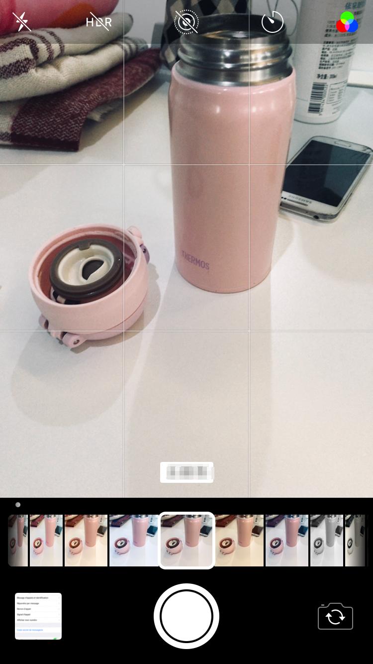 Nouveaux filtres iOS 11.2