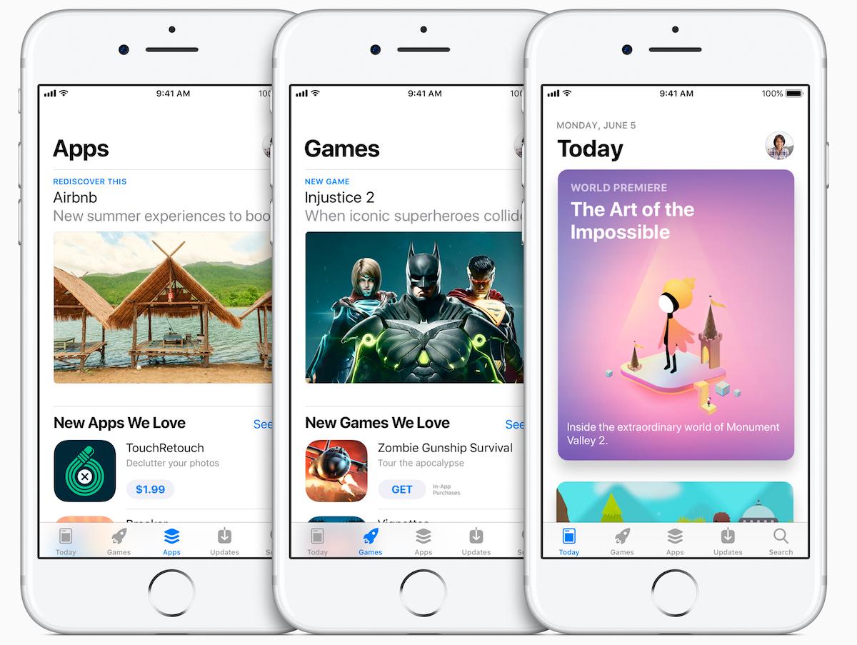 Nouvel App Store iOS 11.2