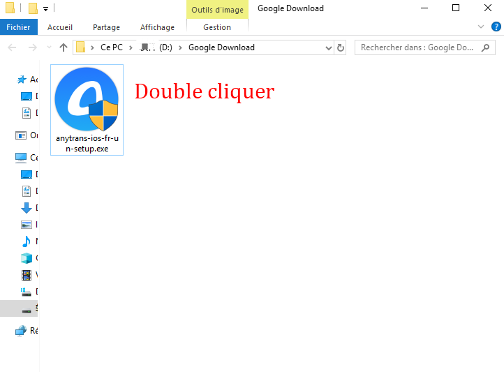 Double cliquer