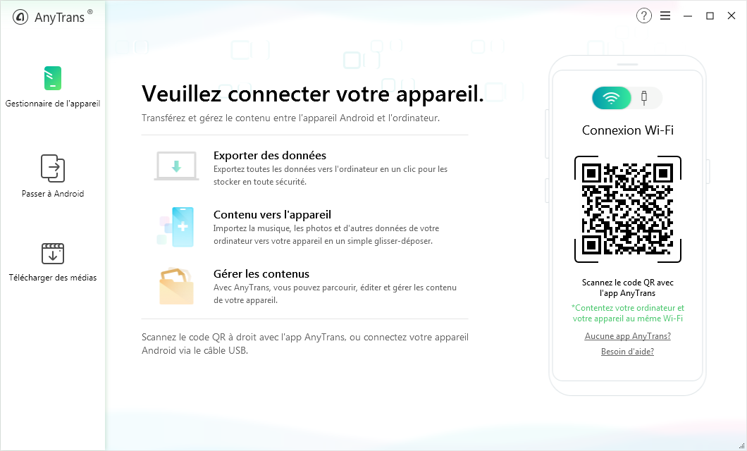 AnyTrans pour Android