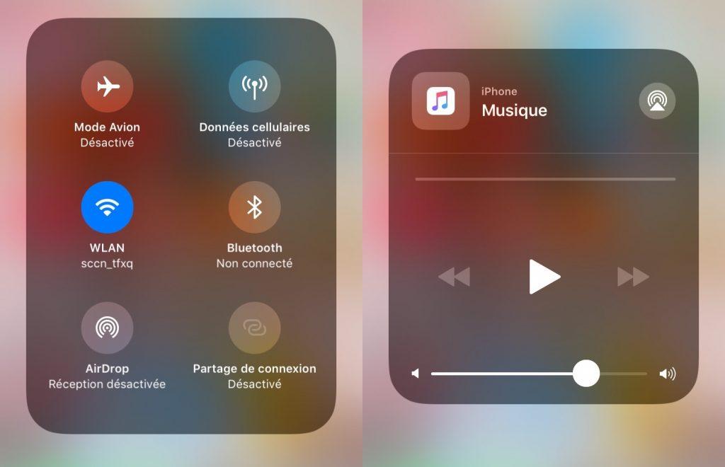 Comment personnaliser le centre de contrôle sous iOS 11 - étape 2