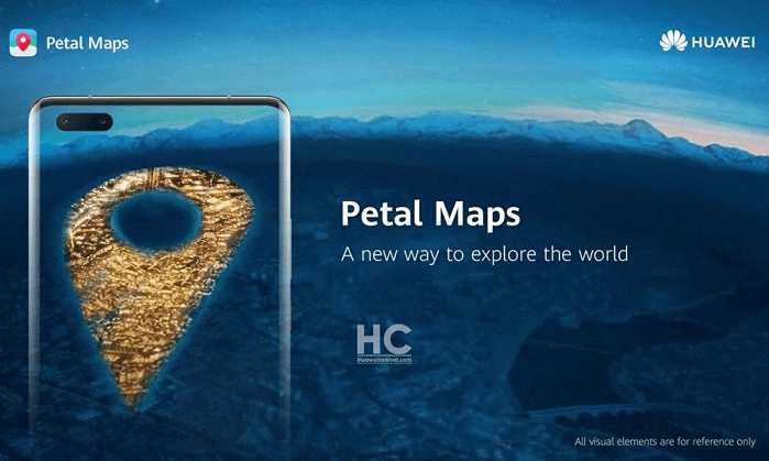 Application Huawei Petal Maps