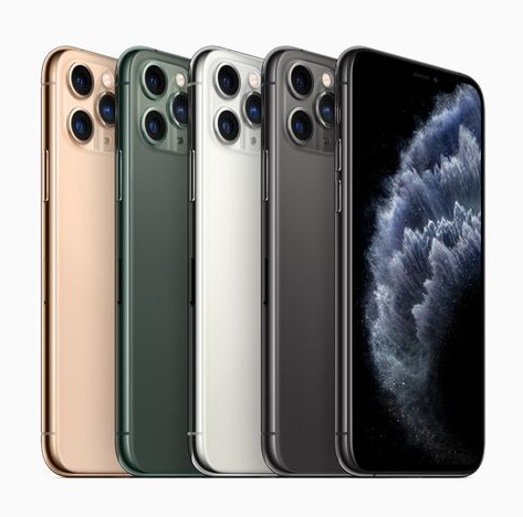 Les nouveaux iPhone 11 Pro