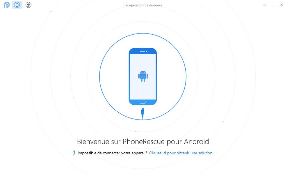 Logiciel PhoneRescue pour Android