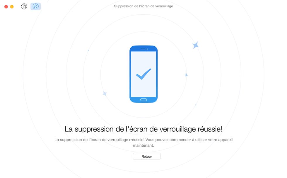 Déverrouiller le téléphone Android sans code