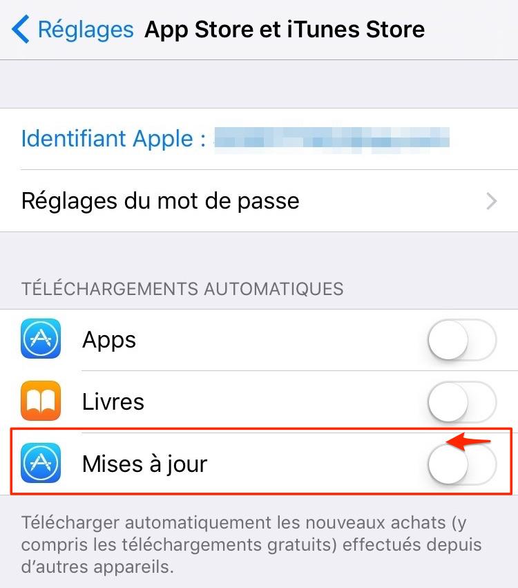 Problèmes d'apps iOS 11/11.1/11.2 - Téléchargement d'apps lent