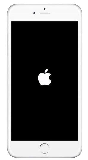 L'iPhone est bloqué sur logo Apple