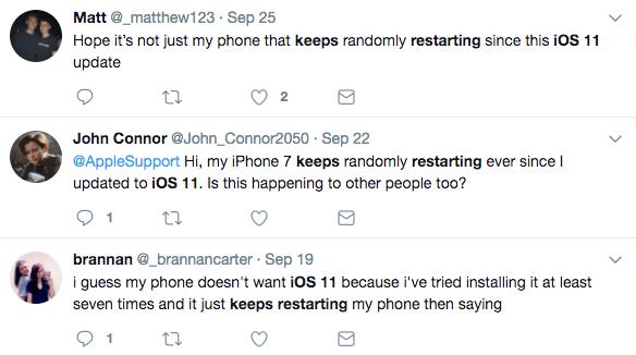 Problèmes iPhone iPad - iPhone redémarre en boucle