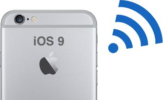 Problèmes et Solutions d'iOS 9/9.1/9.2/9.3 - Questions sur Wi-Fi