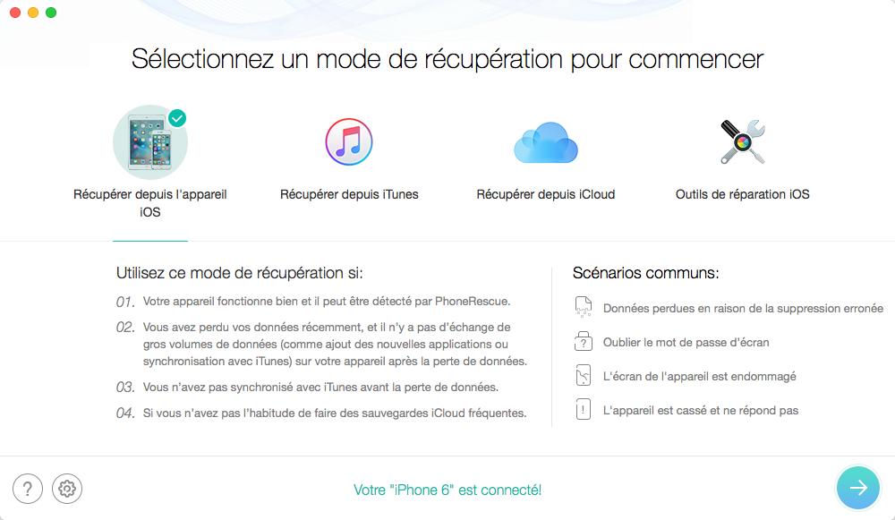 Problèmes et Solutions d'iOS 9/9.1/9.2/9.3 - Perte de données Après la MàJ iOS 9/9.1/9.2/9.3