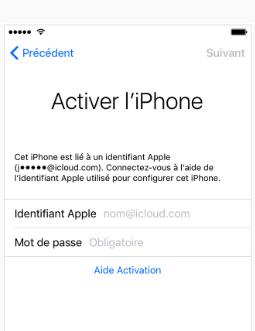 Impossible de se connecter à Apple ID