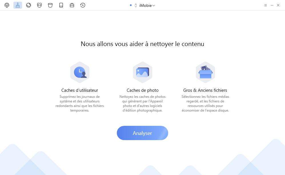 Supprimer les fichiers inutiles d'iPhone/iPad avec PhoneClean