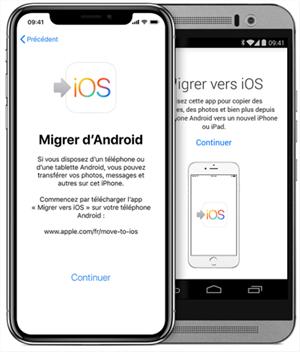 Le processus Migrer vers iOS