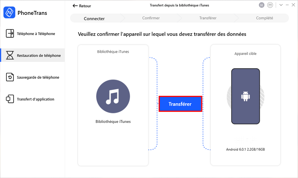 iTunes vers Android