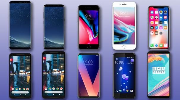 Diversité de types du téléphone Android