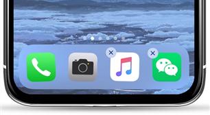 Organiser les icônes sur iPhone à l'aide du Dock