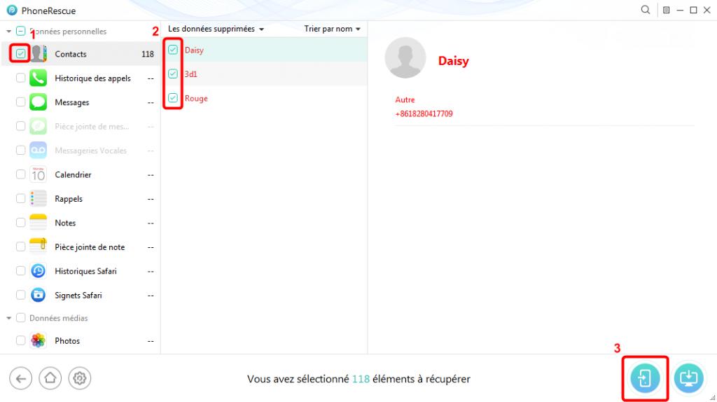Comment faire si les contacts iPhone sont supprimés