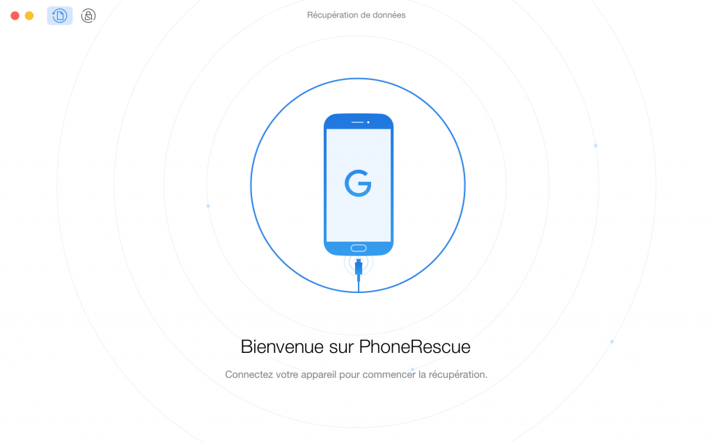 Comment récupérer les contacts supprimés Google - étape 1