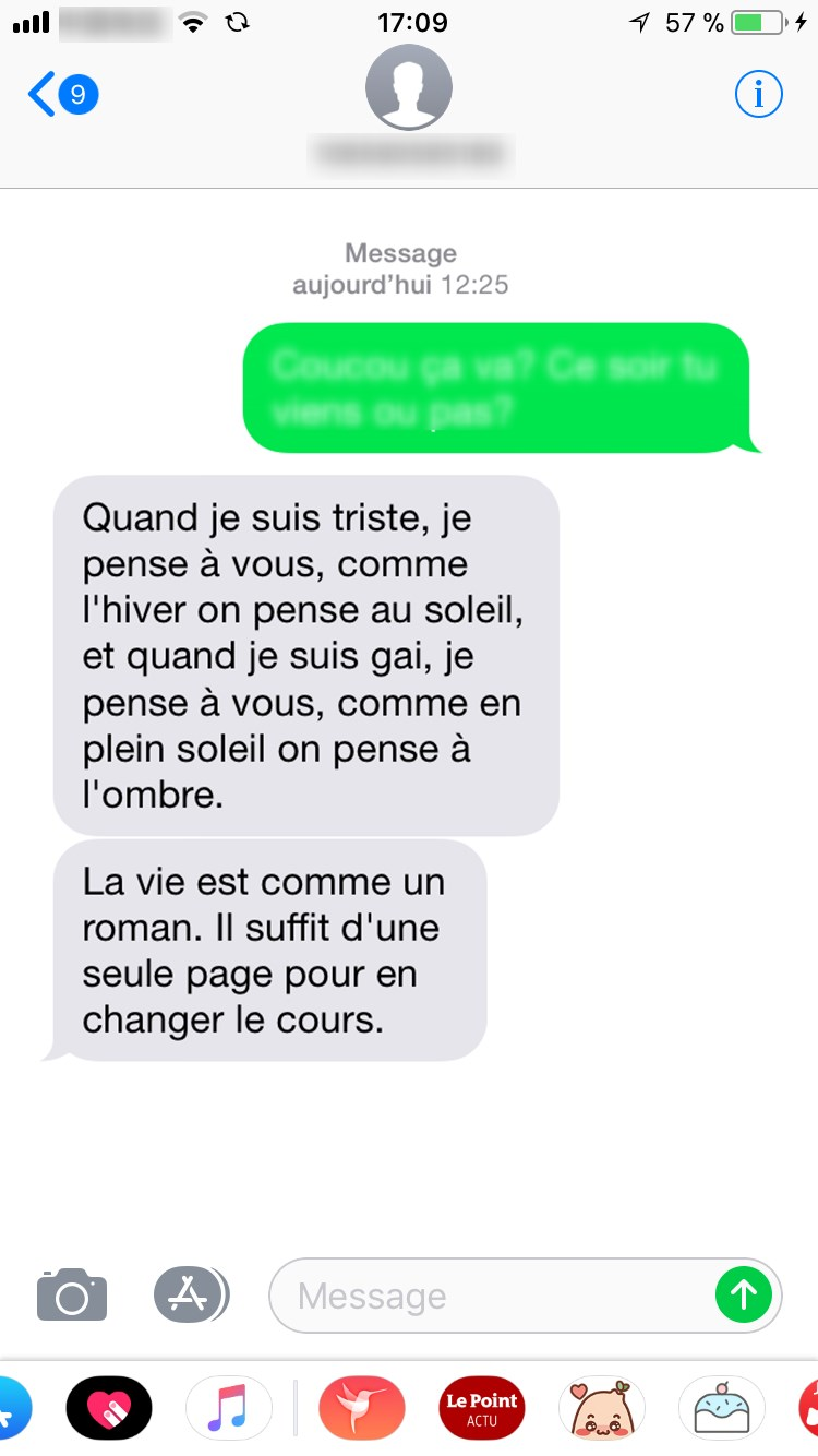 RECUPERER LES MESSAGES SUR IPHONE