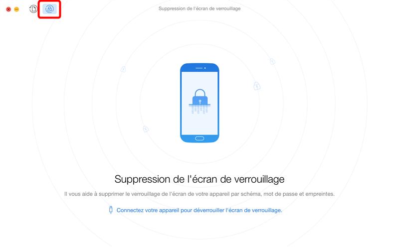 Récupération des données sur téléphone Android verrouillé – étape 2